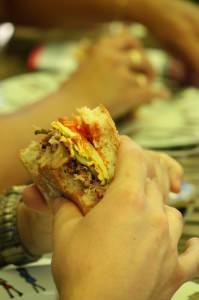 Hamburgers maison boeuf & poulet