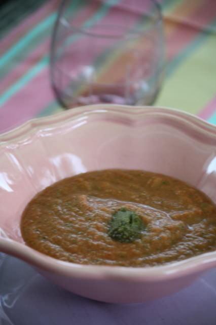 Soupe de légumes sans cuisson 23 soupes