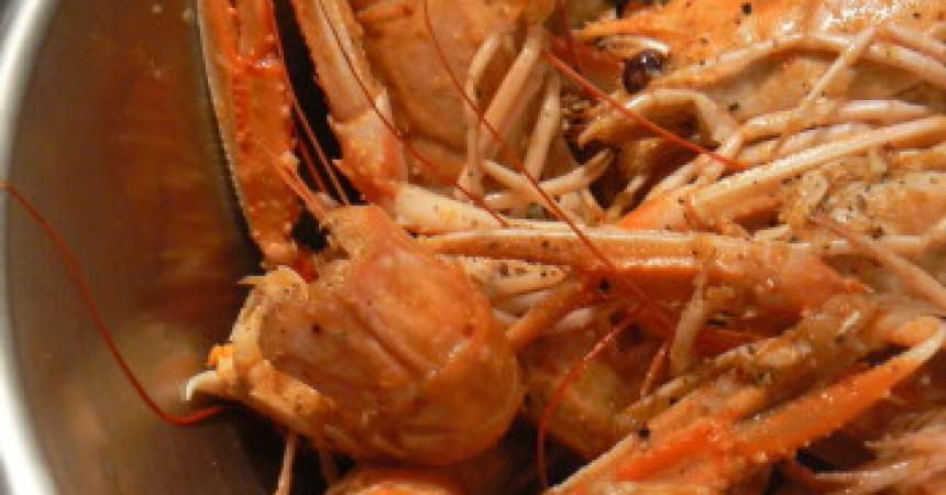 cuisson langoustines au court bouillon