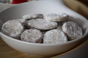 Biscuits aux épices et au rhum