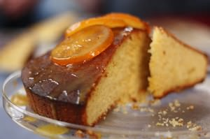 Gâteau orange & amandes