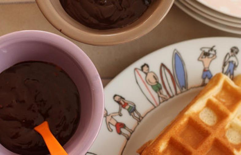 Gaufres au lait Ribot, pour fêter mardi-gras