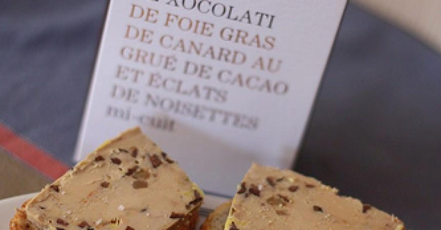 C'est nouveau et c'est bon : Foie gras de canard au chocolat