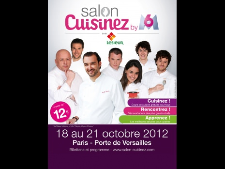 Salon cuisinez, Paris du 18 au 21 octobre 2012