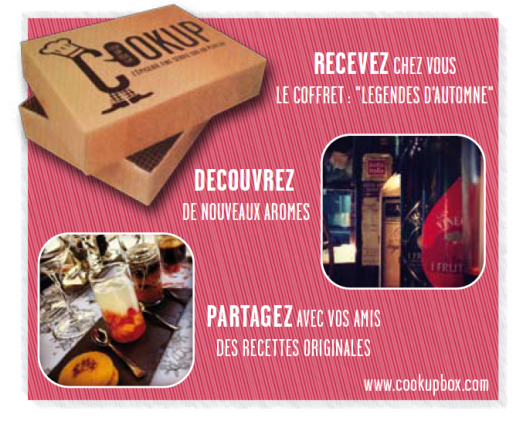 Mon cadeau du week end, la Cookup Box !