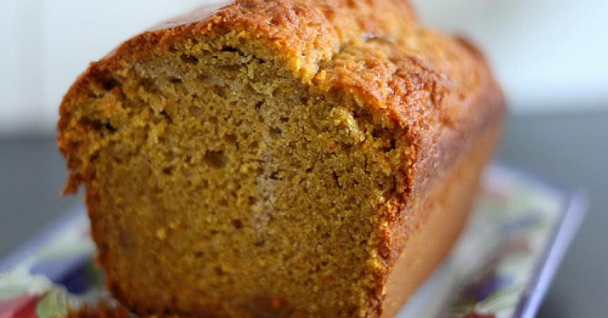 Cake au potimarron pour le Meilleur Pâtissier sur M6