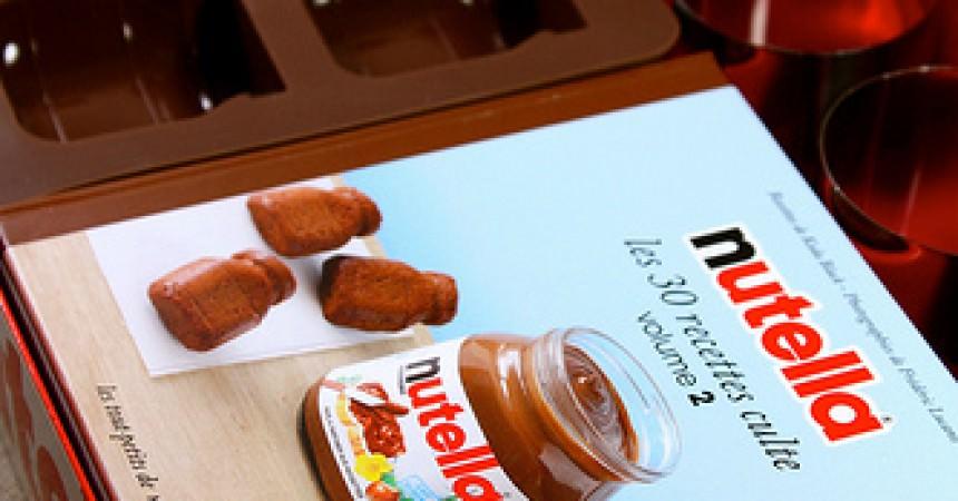Nutella : Les 30 recettes cultes en 2 coffrets