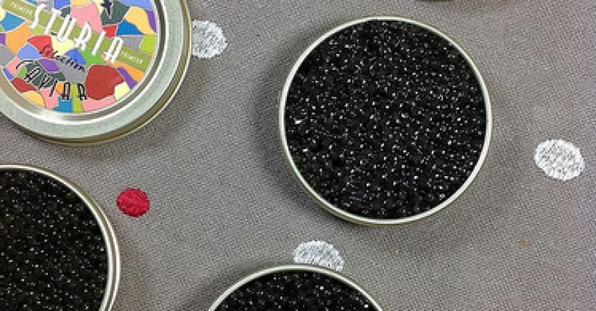 Duo d'esturgeon fumé & caviar primeur