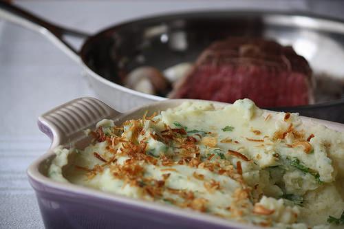 Pur e de pomme de terre maison aux herbes blogs de cuisine - Puree pomme de terre maison ...