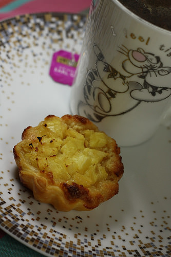 Daurade aux agrumes et au chou Romanesco, et tartelettes ananas frangipane avec HelloFresh
