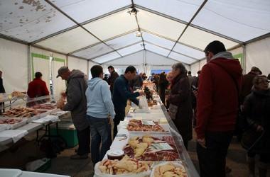Le marché au gras et aux truffes de Périgueux (dordogne)