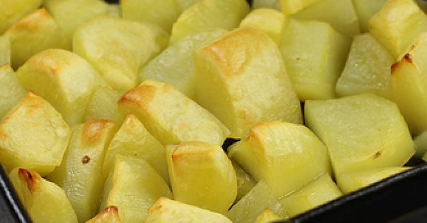 Pommes de terre crousti-moelleuses au four