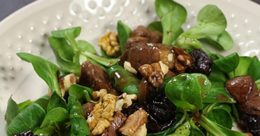 Salade de magret de canard [recette maggi]