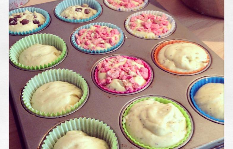 Des p'tits muffins, encore des p'tits muffins pour les p'tits (et grands) gourmands