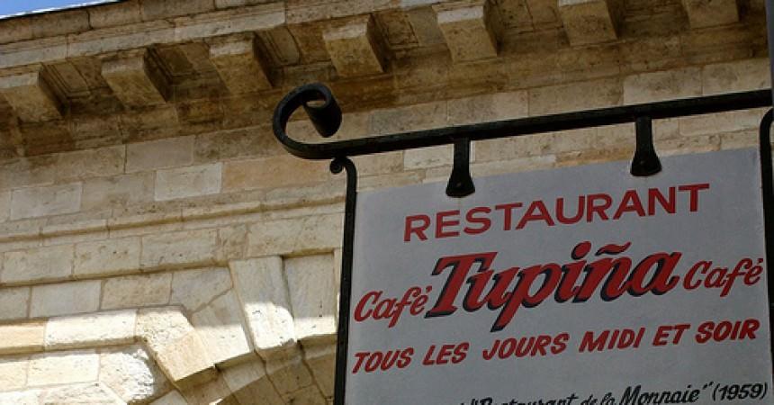 Le Café de la Tupina : restaurant bistrot à Bordeaux