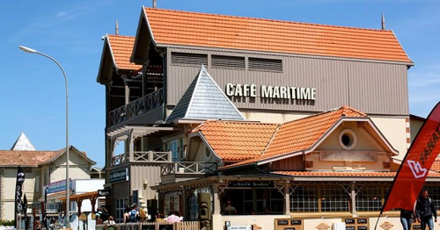 Le café maritime, la Villa Margalex : restaurant à Lacanau (33)