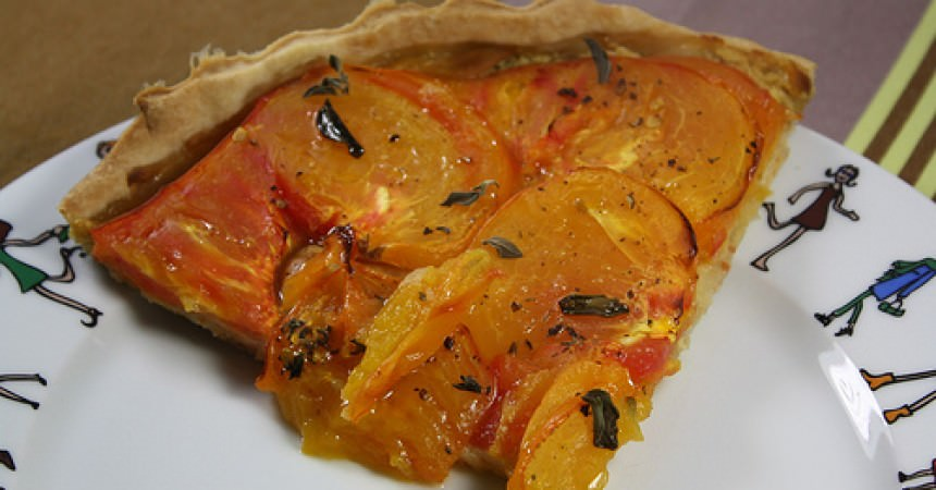 Tarte à la tomate ananas & origan