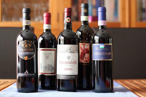 vin rouge toscane