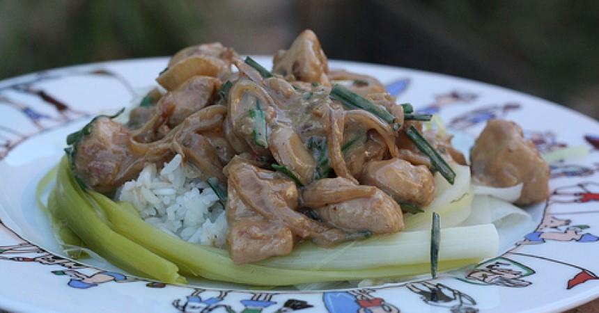 Poulet sauce satay, une délicieuse recette Balinaise