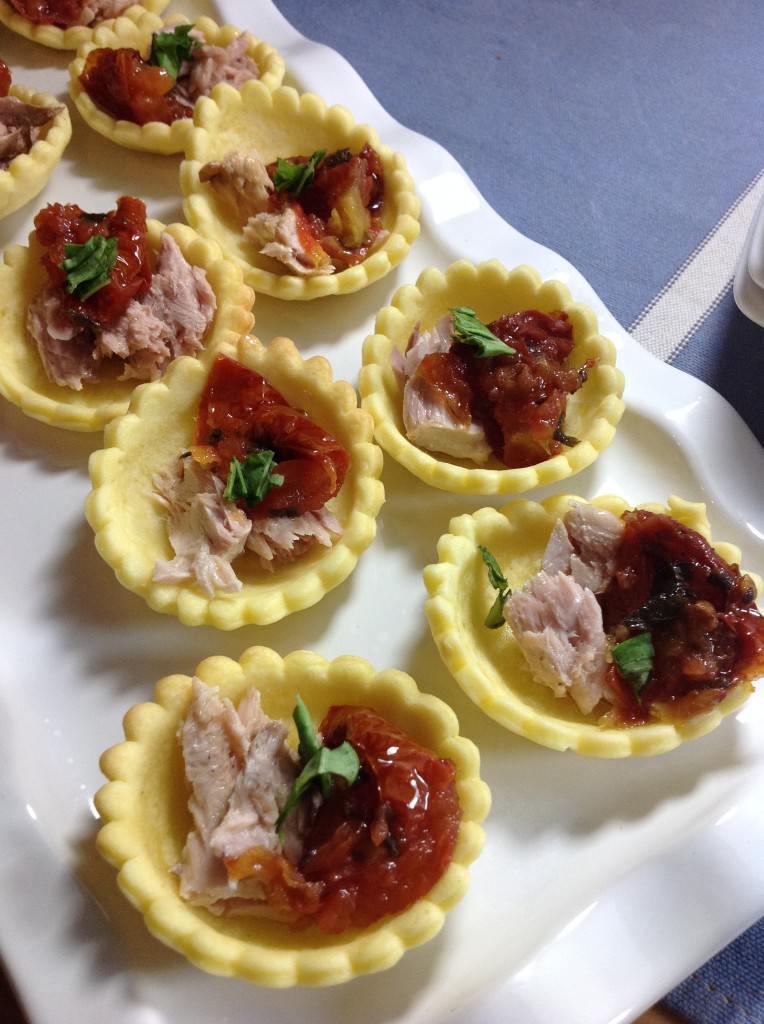 Mini tartelettes au thon et aux tomates s ch es ma p 39 tite cuisine - Ma p tite cuisine ...