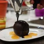 sphere chocolat éphémère