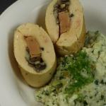 Volaille au foie gras