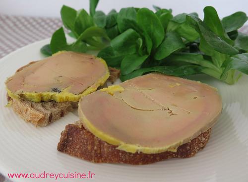 foie gras aux épices douces
