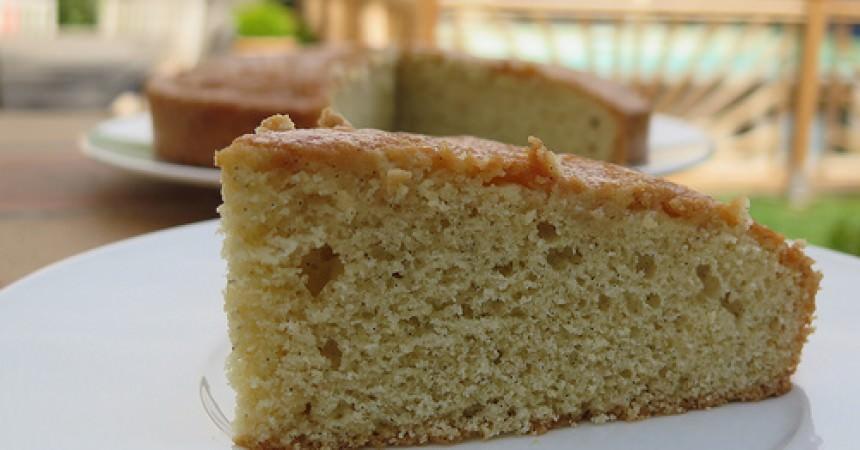 Gâteau moelleux ultra vanillé à la vanille de Tahiti