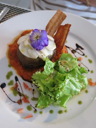 Restaurant c t jardin chambilly en bourgogne ma p 39 tite for Cuisine portugaise jardin