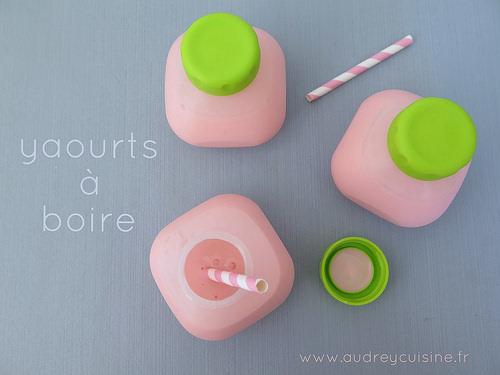 Yaourts boire la fraise comme du yop blogs de cuisine - Machine a yaourt seb ...