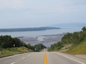 L'île aux Coudres, région de Charlevoix, Québec (Canada)