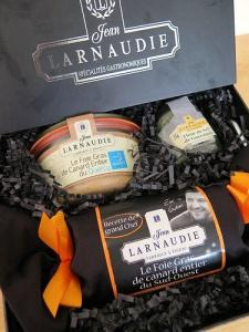En attendant Noël #1 : Un coffret de Foie gras Jean Larnaudie à gagner