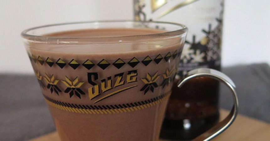 La rencontre de la Suze et du chocolat chaud …