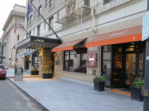 Hôtel Lucia & Imperial Restaurant, Portland USA