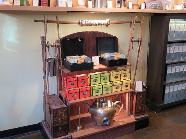 Dégustation de thés chez Steven Smith Tea Maker, Portland