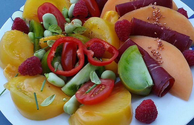 Mes p'tites salades de crudités jolies & healthy