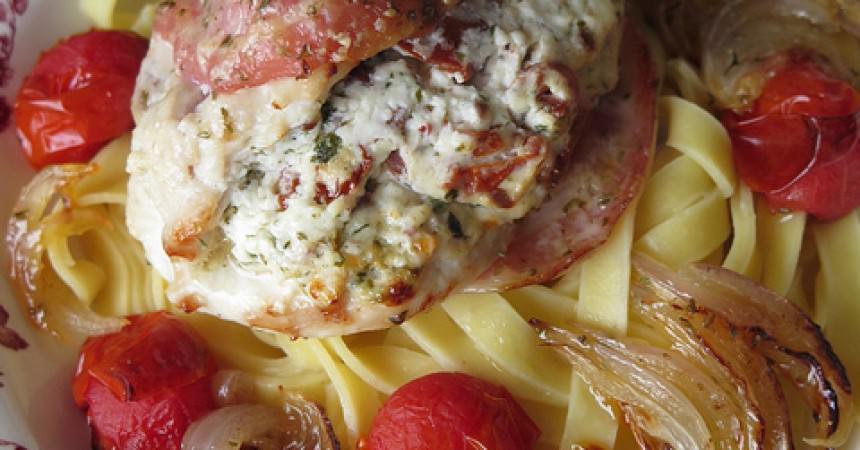 Blancs de poulet à l'Italienne au Grana Padano A.O.P.