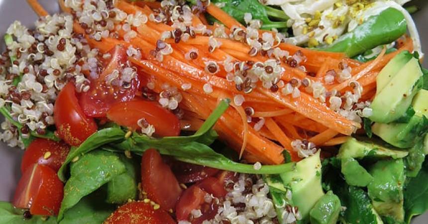 Salade composée healthy & veggie