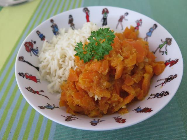 curry de carottes au lait de coco ma p 39 tite cuisine. Black Bedroom Furniture Sets. Home Design Ideas