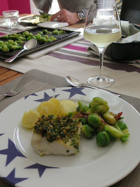 Cabillaud au four en croute d 39 herbes ma p 39 tite cuisine - Ma p tite cuisine ...