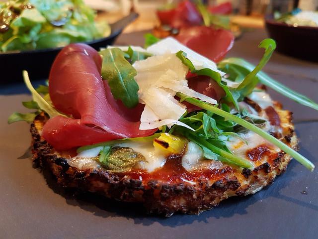 Pizza légère et gourmande sans gluten