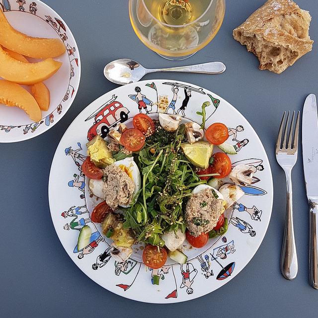 La p'tite salade toute simple mais parfaite