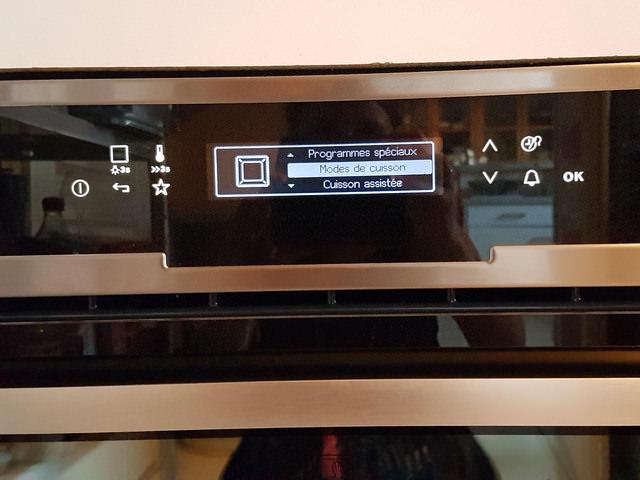 test du four multifonction vapeur d electrolux concours ma p 39 tite cuisine. Black Bedroom Furniture Sets. Home Design Ideas