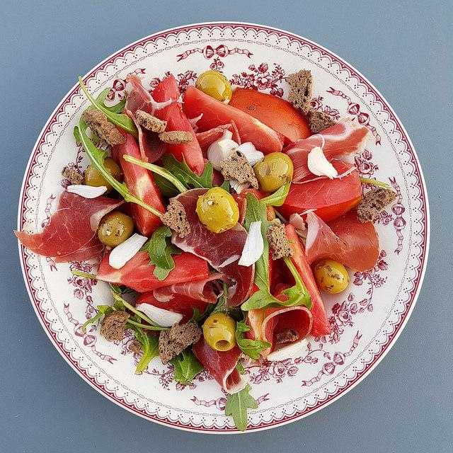 salade compos e tomates olives blogueurs de mode. Black Bedroom Furniture Sets. Home Design Ideas