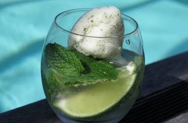 Cocktail Mojito et son sorbet
