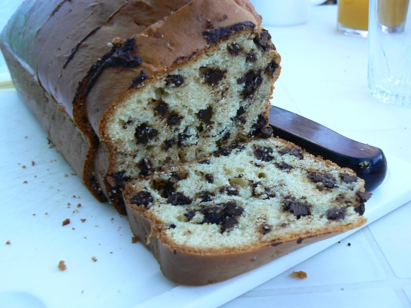 Cake Pain Perdu Chocolat