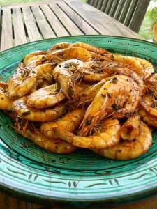 Crevettes Ponzu