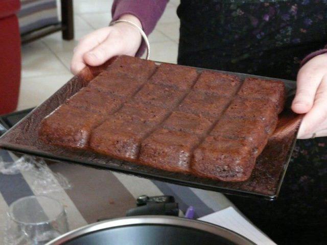 Atelier Flexipan – Brownies au chocolat et aux noix