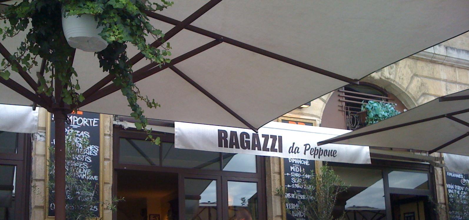 Pizza Peppone Bordeaux Carte.Ragazzi Da Peppone I Resto Italien I Bordeaux 33 Audrey Cuisine