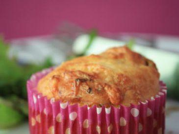 Muffins à la Fourme d'Ambert
